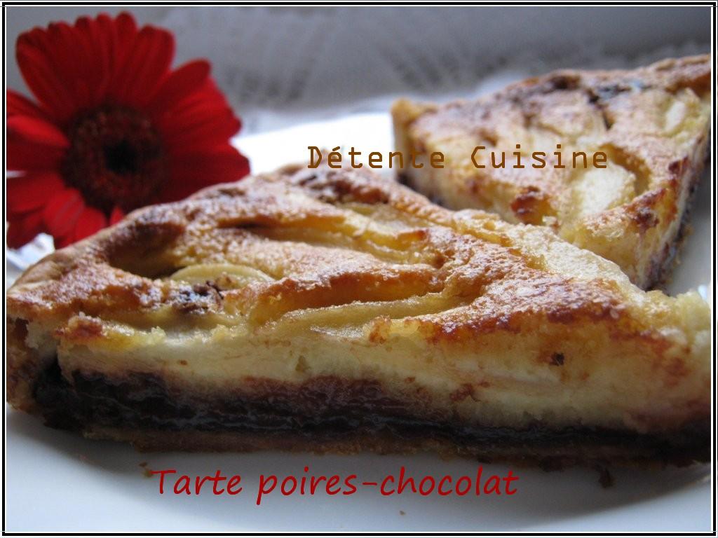 Voici une bonne idée pour vous souhaiter de Joyeuses Pâques... dans Détente Tarte-poires-chocolat..2