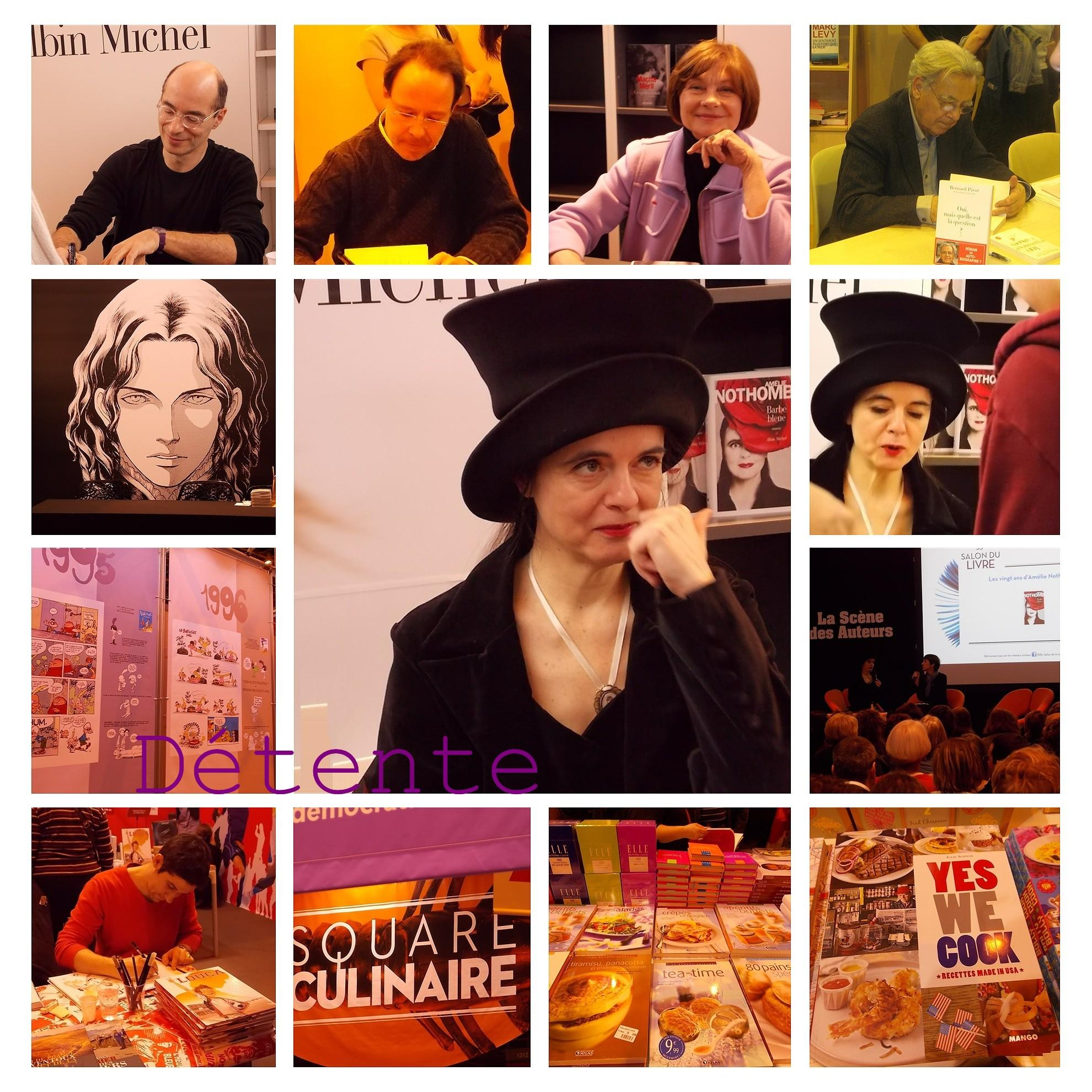 Le Salon du Livre et la 'Dame au Chapeau' ! dans Autisme (voir aussi