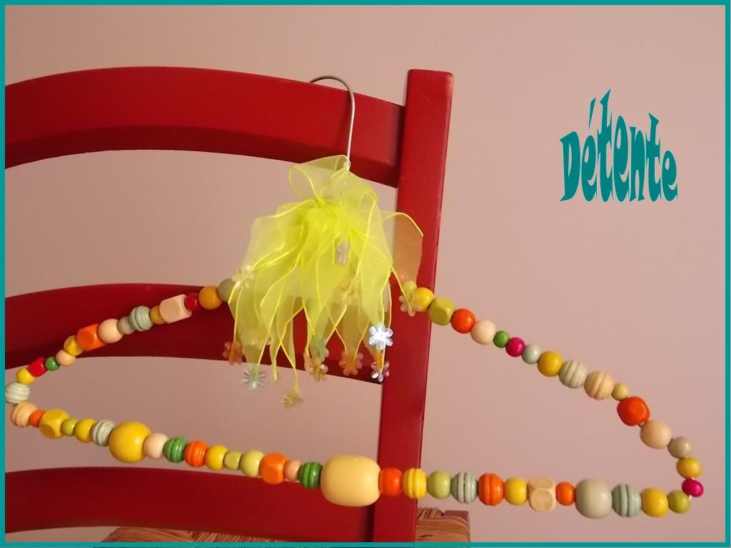 Petites Bricoles...Petits plaisirs... dans Couture, bricolage cintre-jaune001