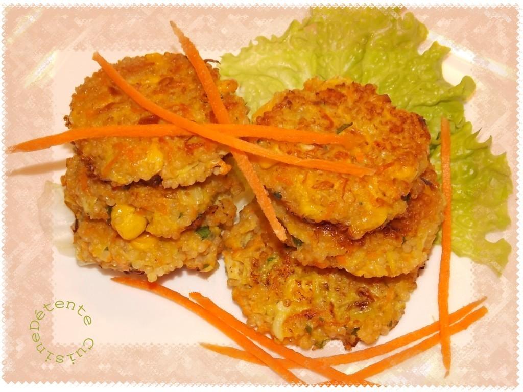 galettes-quinoa dans Cuisine